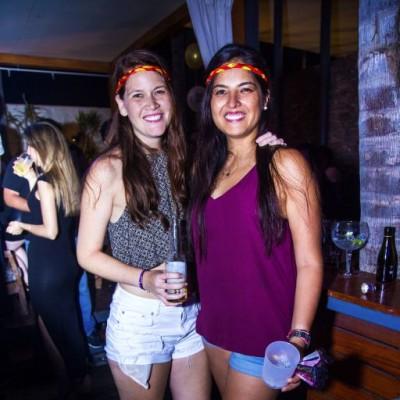 Andrea Verme y Mariella Garcia.