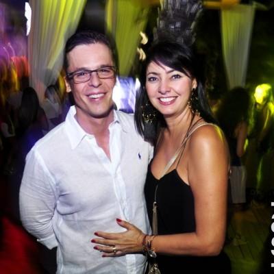 Artur Gardinalli y Ximena Restrepo en Amadeus, Boulevard de Asia.