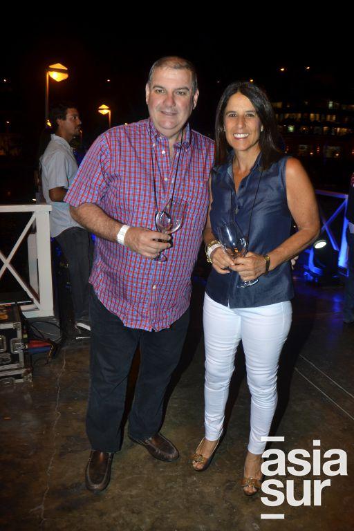 Augusto Barrios y Mariella Labarthe de Barrios.