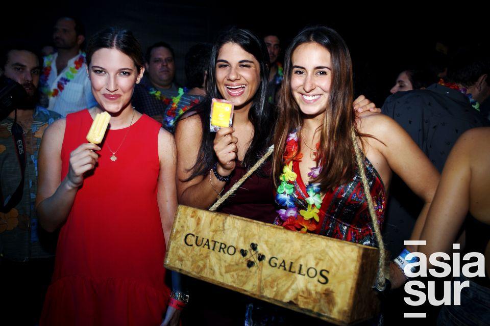 Barbara Galletti, Melissa Reategui. Maria Paula Alarcon.