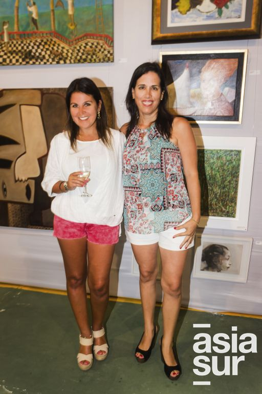 Beatriz Fortunic y Marisel Ghezzi.