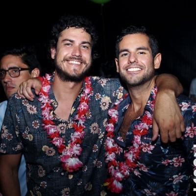Carlos Cisneros y Alan Garcia Nores.