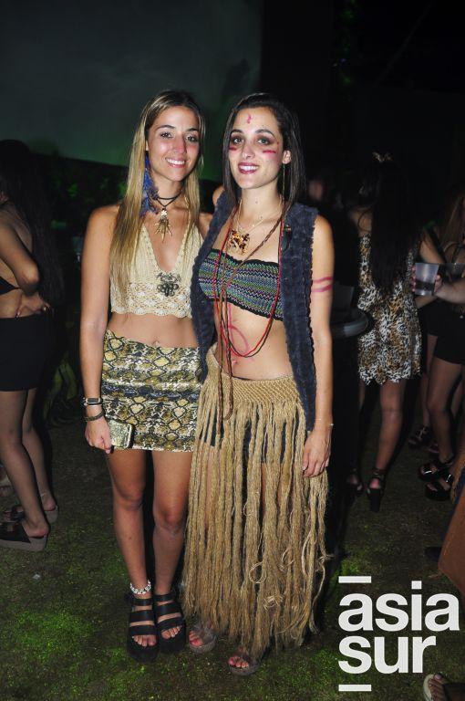 Carolina Arzubiaga y Verónica penagos.
