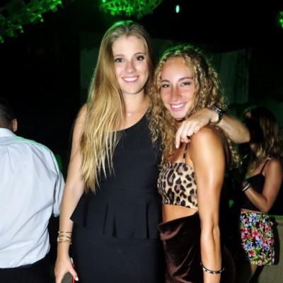 Carolina Bocian y Simona Nicolini.