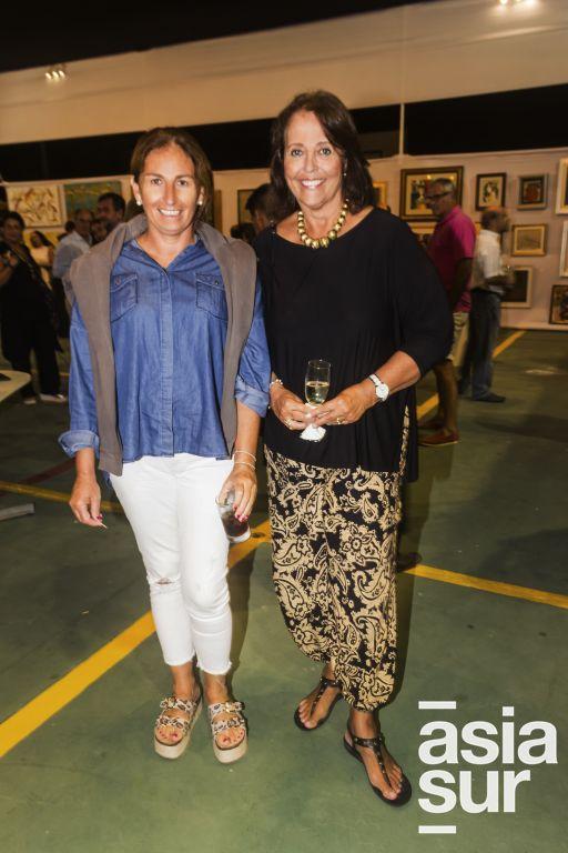 Carolina Noguera y Rosario Florez.
