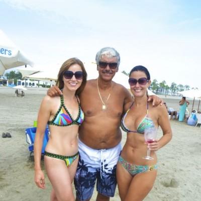 Carolina Perez, Manuel y Fiorella Balbuena en Cayma.