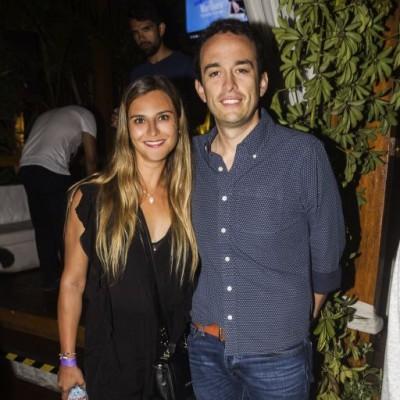 Carolina Raimann y Felipe Barros.