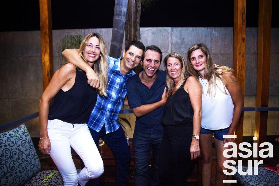Cecilia Basso, Manuel Garra, Juan Cruz, Candela Rugeri y Mariana Poggio.