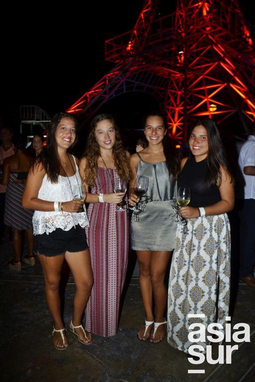 Chiara Pinasco, Maria Belen Novoa, Fernanda Pereyra y Nuria Pedraza.