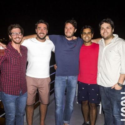 Chris Harrisson, Sergio Bacigalupo , Ricardo Chumacero, Joseph Vlit y Luis Valderrama.