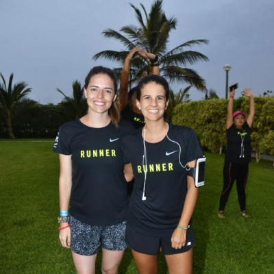 Daniela Umbert y Diana Perez.