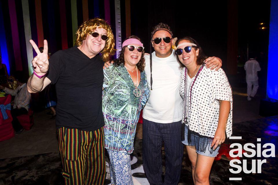 David, Fanny, Rony y Katthy Gherson.