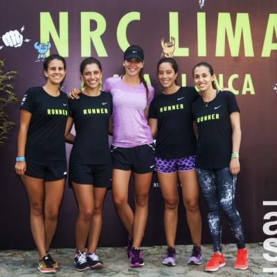 Diana Perez, Annaira Díaz de Ravago, Alejandra Chavez, Fiorella Rospigliosi y Chrisa Reyes.