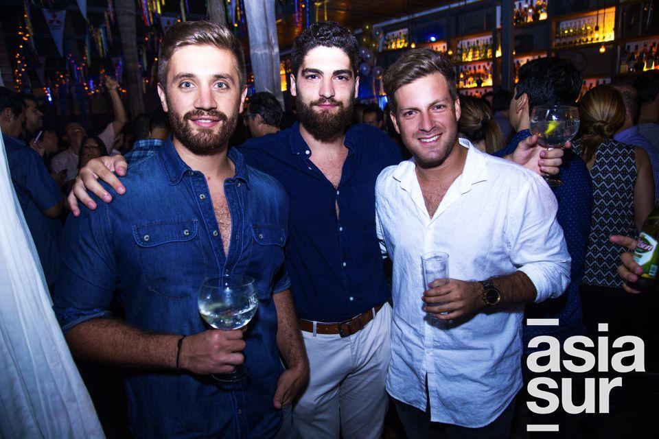 Diego Gonzalez, Francesc Moret y Raffaelle Cantone.