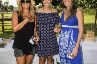 Eliana Goldin, Andrea Castro y Judy Goldin.