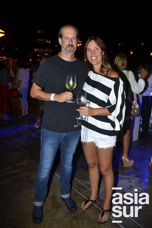 Elias Alayza y Talia Finazzi.