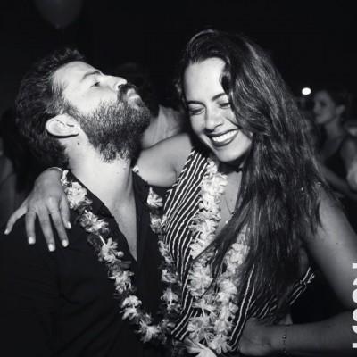 Emilio Amuco y Tamara Kilimajer.