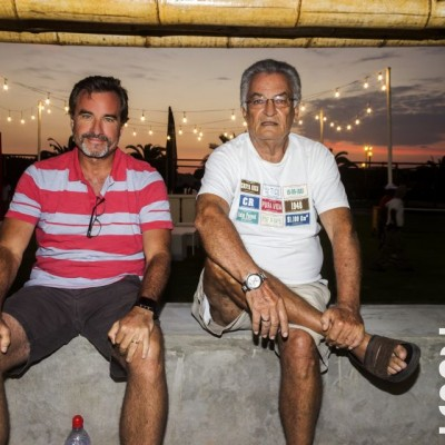 Enrique Spihlmann y Jaime Hanza.