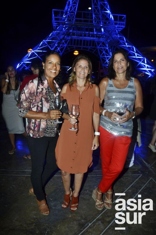 Fabiola Carvalho, Andrea Guerrero y Susana Verme.