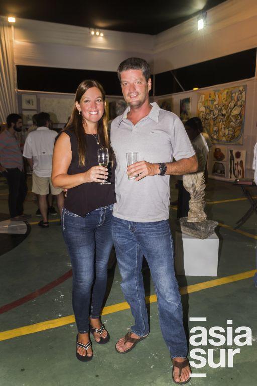 Francesca Ferrero y Marcelo Croci.