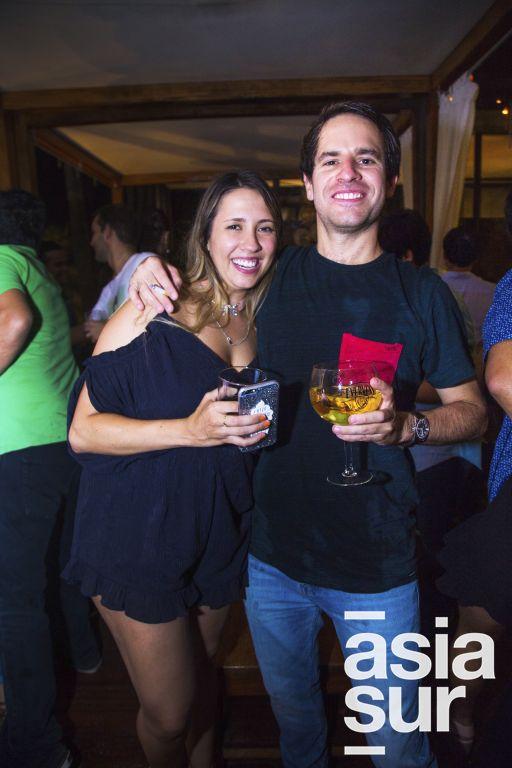 Francesca Mayer y Rodrigo de La Borda.