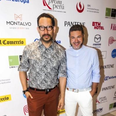 Gerardo Larrea y Antonio Choy Kay.