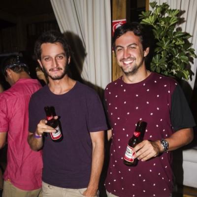 Gianfranco Neumann y Sebastian Palacio.