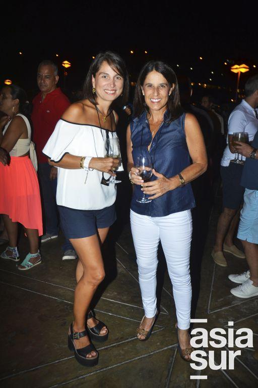 Giselle Arana Cisneros y Mariella Labarthe.