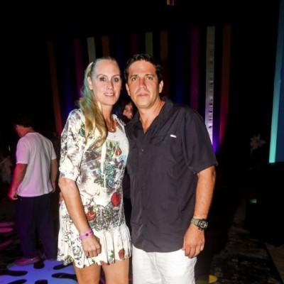 Giuliana Calisto y Alejandro Roro.