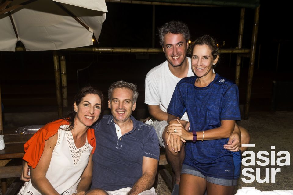 Giulisa de Las Casas, Miguel Yzaga, Luis Miranda y Beni Ciabatti.