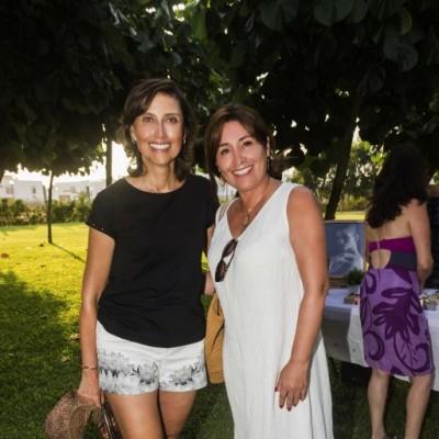Gladys Germana y Estela Ruiz.