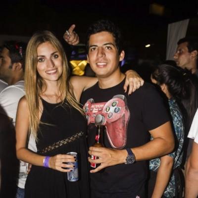 Glenda Canavese y Omar Diaz.