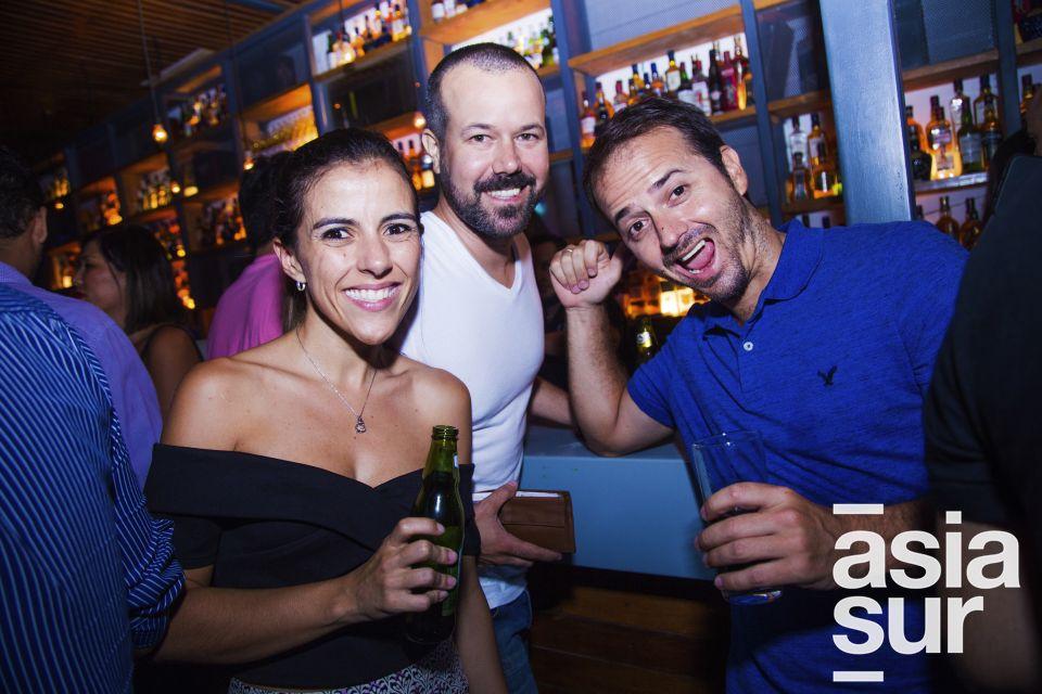 Vanessa Ortiz,Rafael reyes y Alvaro Aservi.