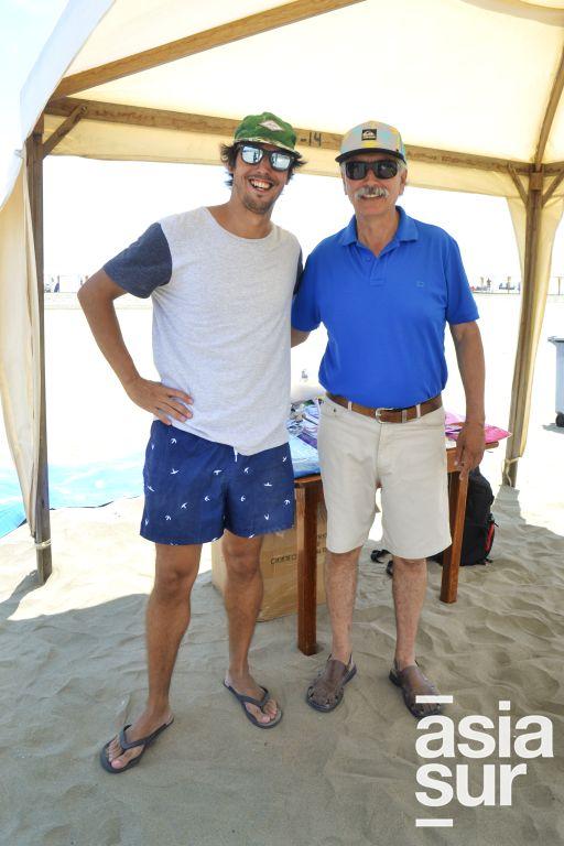 Ivan Thibaud y Luis Ernesto Rivera.