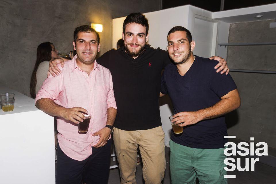 Jabra Mitri, Montaser Abou Zahr y Nader Dan.