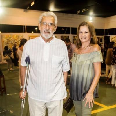 Javier Filomeno y Carmen Pastor.