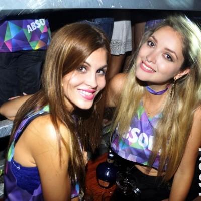 Jimena Espinosa y Nadia Pucce en CM, Boulevard de Asia.