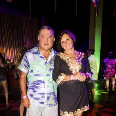 Jimmy Carrasco y Marcela Casagrande.
