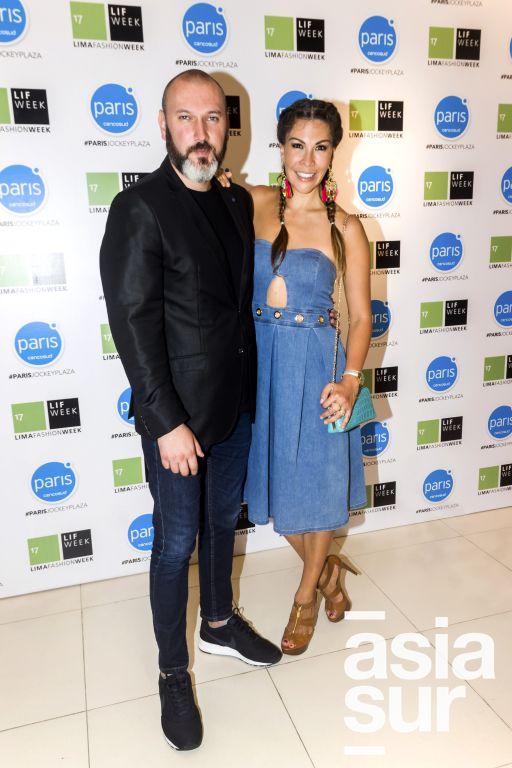 Jose Clemente y Claudia Jimenez.