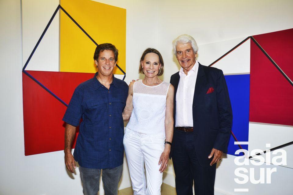Juan Vega, Patricia Jenkins y Ricardo Vega.