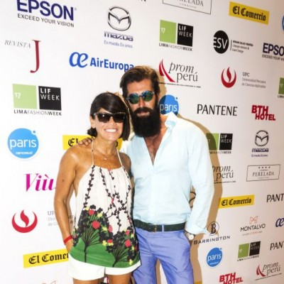 Karina Pons de Vier y Sergio Bardón.