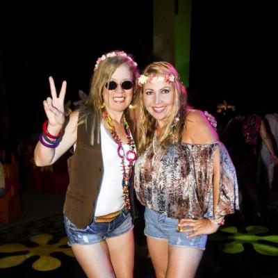 Kathy Mignone y Ruth Bustos.