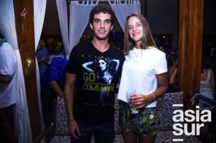 Luis Antonio Mendoza y Francesca Hemmerde.