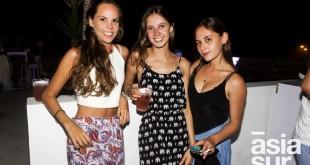 Maria Fe Gubbins, Bruna Raffo y Carolina Trelles.