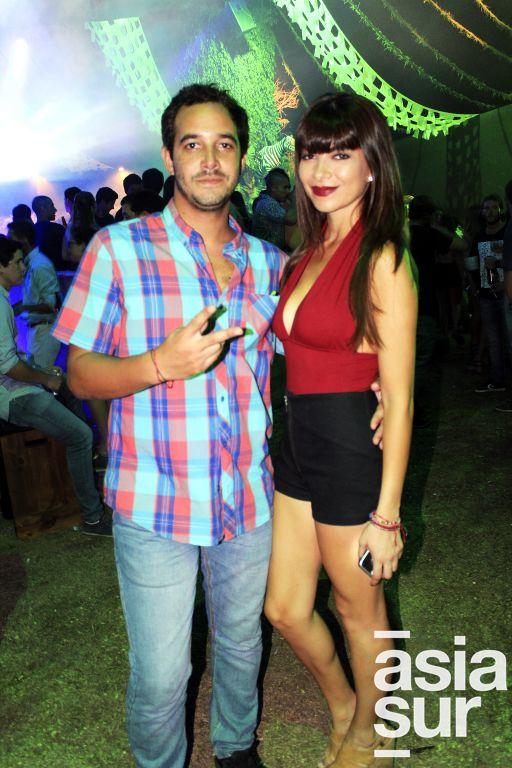 Mateo Chavez-Taffur y Daniela Pereira.