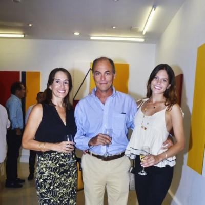 Matilde de Losada, Carlos e Ines Wiese.