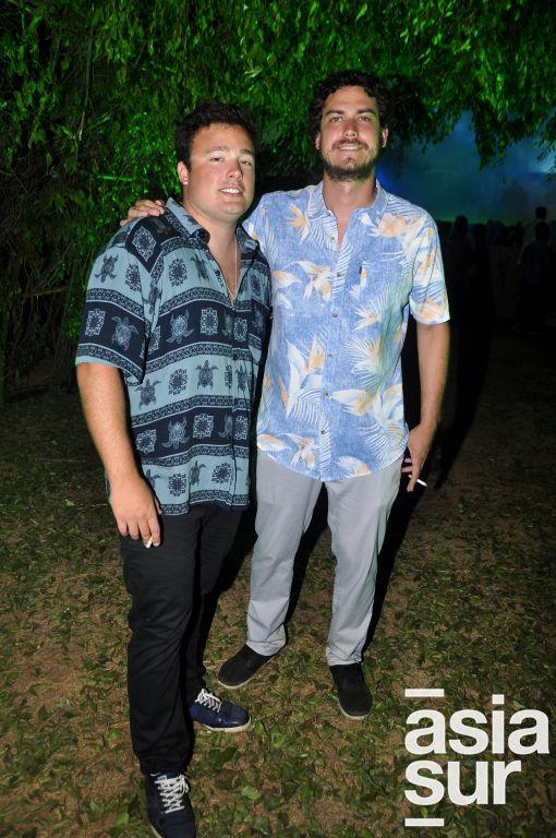 Michel Bosmans y Carlos  Cisneros.