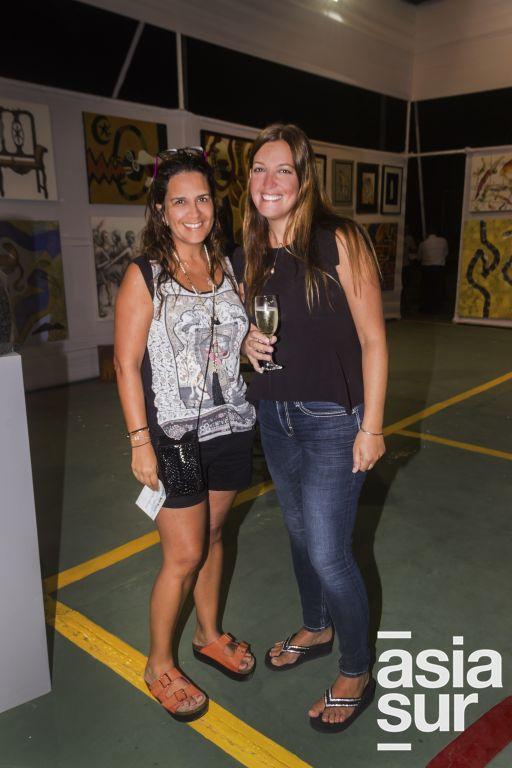 Milka Miletich y Francesca Ferrero.