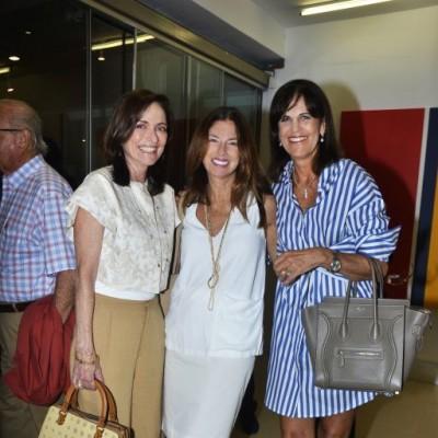 Monica Pierantoni, Roxana Valdivieso y Sandra Plevisani.