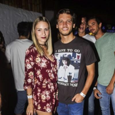 Nicole Ascenzo y Lucho Gamero.